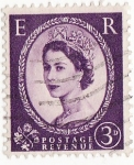 Stamps America - United Kingdom -  Reina isabel II