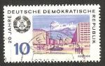 Stamps Germany -  Vista de Rostock