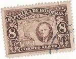 Sellos del Mundo : America : Honduras : Dia de la victoria aliada sobre el Japon