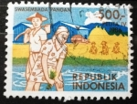 Stamps Indonesia -  Pelita IV