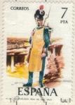 Sellos de Europa - España -  ESPANA 1975 (E2281) Uniformes militares 7p
