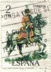 Stamps Spain -  ESPANA 1978 (E2452) Uniformes militares 2p