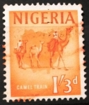 Stamps Africa - Nigeria -  Camellos