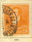 Stamps America - Argentina -  Rivadavia Beldrano
