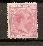 Sellos del Mundo : America : Cuba : Alfonso XIII / Impresos