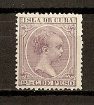 Stamps America - Cuba -  Alfonso XIII