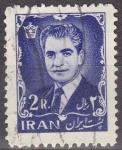 Stamps Iran -  IRAN 1962 Scott 1214 Sello Mohammed Reza Shah Pahlavi 2R usado