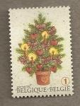 Stamps Belgium -  Arbol Navideño