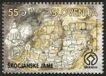 Stamps Slovenia -  ESLOVENIA - Grutas de Skocjan