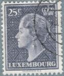 Sellos de Europa - Luxemburgo -  LUXEMBURGO 1948-51 (M445) Gran Duquesa Carlota 25c