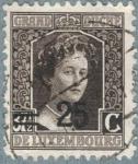 Sellos de Europa - Luxemburgo -  LUXEMBURGO 1915 (M116) Gran Duquesa Carlota 25c