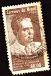 Stamps : America : Brazil :  visita del presidente de Brasil a yugoslavia