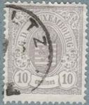 Stamps Luxembourg -  LUXEMBURGO 1881 (So47)  10c