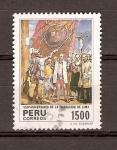 Stamps America - Peru -  FUNDACIÓN  DE  LIMA