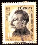 Stamps Turkey -  fikret