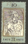 Stamps Germany -  500 anivº del nacimiento de albrecht durer