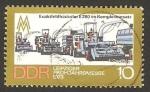 Stamps Germany -  1529 - Feria de Leipzig