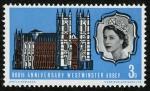 Stamps United Kingdom -  REINO UNIDO - Palacio y abadía de Westminster e iglesia de Santa Margarita