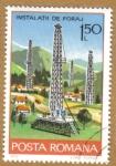 Stamps Romania -  INSTALACION DE SONDEOS