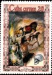 Stamps Cuba -  hombre de cromagnon