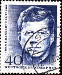 Stamps : Asia : Germany :  John F.KENNEDY