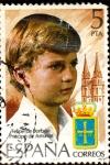 Stamps Spain -  Principe Felipe de Borbon