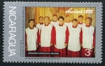 Stamps : America : Nicaragua :  Navidad