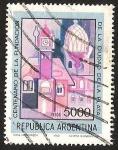 Stamps Argentina -  CENTENARIO DE LA FUNDACION CIUDAD DELA PLATA