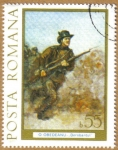 Stamps Europe - Romania -  O OBEDEANU - Dorobantul