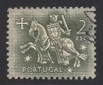 Sellos de Europa - Portugal -  Rey Dinis I el labrador.