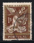 Sellos de Europa - Portugal -  Angel Gabriel.