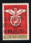 Sellos de Europa - Portugal -  Emblema europeo de futbol.