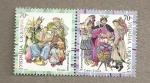 Stamps Europe - Ukraine -  Vestimenta típica ucraniana