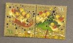 Stamps Ukraine -  Navidades 2007