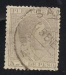 Stamps America - Puerto Rico -  Alfonso XII  Rey de España.
