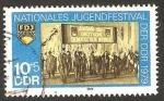 Stamps Germany -  2089 - Festival nacional de las juventudes de la R.D.A.