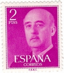 Stamps Europe - Spain -  Franco. España