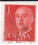 Stamps of the world : Spain :  Franco. España