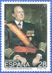 Stamps of the world : Spain :  ESPANA 1993 (E3264) Don Juan de Borbon y Battenberg 28p