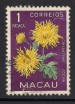 Sellos de Asia - Macao -  Crisantemos.