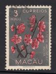 Stamps Asia - Macau -  Flor del Cerezo.
