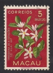 Sellos del Mundo : Asia : Macao : Flor de la Mandarina.
