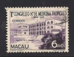 Stamps Asia - Macau -  Hospital Sao Rafael.