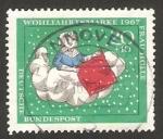Stamps Germany -  404 - tasa de ayuda a obras de beneficencia
