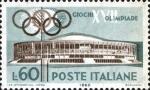 Stamps Italy -  JUEGOS DE LA XVII OLIMPIADA