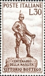 Stamps Italy -  CENTENARIO DEL NACIMIENTO DE VICTOR BOTTEGO