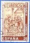 Sellos de Europa - España -  1991 ESPANA (E3142) Navidad - Nacimiento de Cristo ilustracion de Nueva Cronica y Buen Gobierno 25p