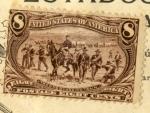 Sellos de America - Estados Unidos -  Troops guarding train