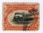 Sellos de America - Estados Unidos -  Ferrocarril