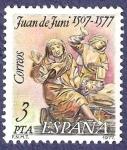 Sellos de Europa - España -  Edifil 2460 Juan de Juni 3 peq. NUEVO